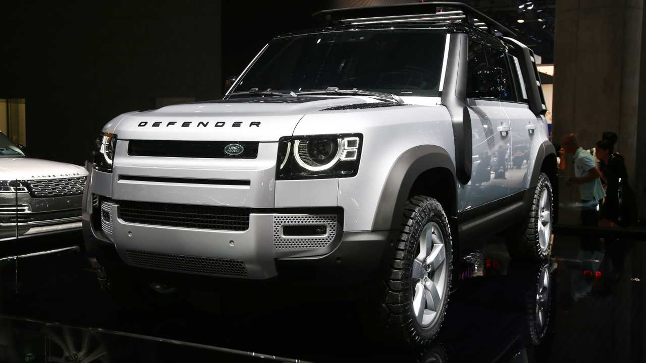 A Look at the NEW 2020 Land Rover Defender