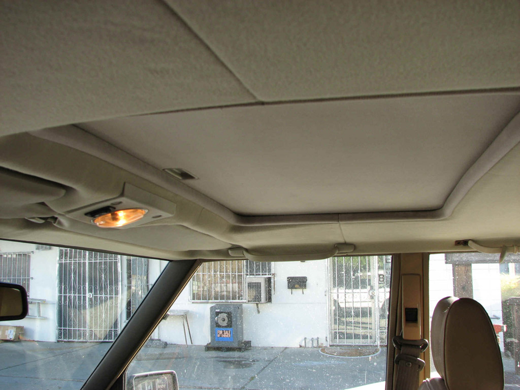 Land Rover Car Upholstery